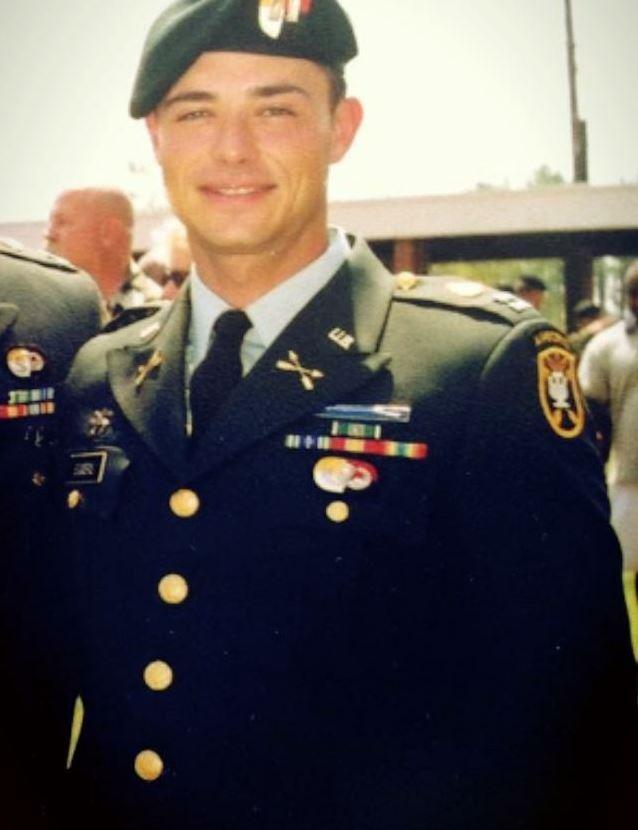Captain Daniel Eggers, U.S. Army